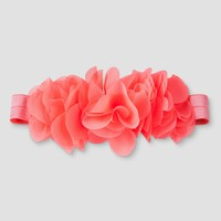 Baby Girls' Headband - Cat & Jack™ Coral