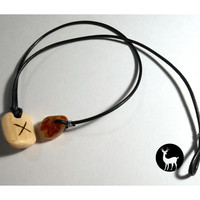 Gebo Rune of Union Necklace