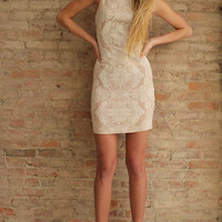 Whimsical Embossed Dress