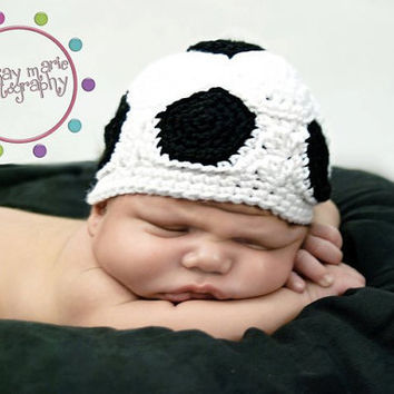 Soccer Beanie Custom Order You pick style and by MySweetPotato3