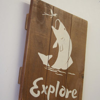 Explore Pallet Sign Rustic Nursery Decor Boys Nursery Wall Art Hunting Nursery Decor Handpainted Sign Baby Gift Above Crib Decor