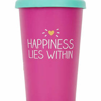Happy Jackson Happiness Pink Travel Mug - Pink
