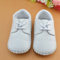 English Classic Infant-Baby Leather Shoes