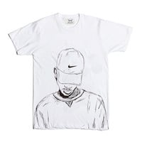 Bryson Tiller trapsoul White Tee (Unisex) // madness pen griffey 2