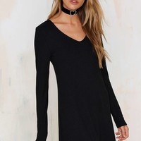 After Party Vintage Janette Ribbed Dress