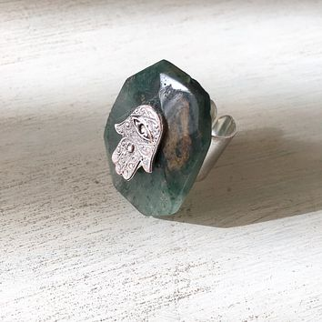 Charmed Agate Ring