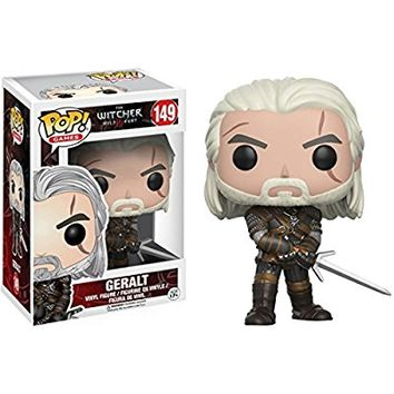Funko POP Games: The Witcher-Geralt Action Figure