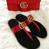 GUCCI Fashion casual slippers