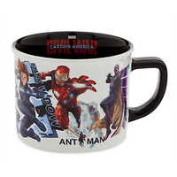 Disney Ceramic Marvel Captain America Civil War Cast Coffee Mug New
