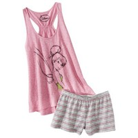 Disney® Juniors Tank & Short Sleep Set - Pink Tinkerbell