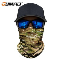 CP Camouflage Seamless Neck Gaiter Face Mask Shield Tube Military Camping Airsoft Paintball Ski Tactical Bandana Headband Scarf