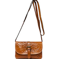 Patricia Nash Tooled Tori Cross-Body Bag