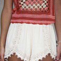 Laced In Love Shorts