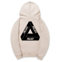 Palace Triangle Printed Unisex Lovers' Hoodies Sweatershirt