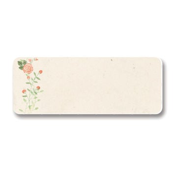 Vintage Floral Printable Address Labels, 90 Total
