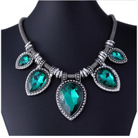 Many Designs Fashion Exaggerate Resin Necklace Women Bib Choker Necklace Collar Statement Necklace