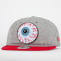 Mishka Keep Watch New Era Mens Fitted Hat Heather Grey  In Sizes 7