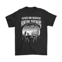 DCKG6Q Father And Daughter Hunting Partners For Life Family Shirts
