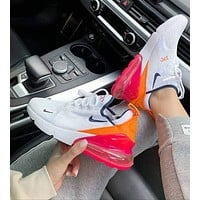 Nike Air Max 270 Low-Top Cushioning Sneakers Shoes
