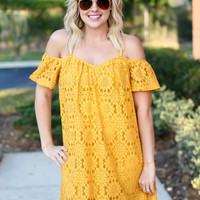 Homegrown Honey Dress - Gold