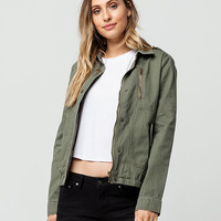 FULL TILT Twill Womens Utility Jacket | Jackets