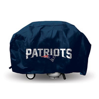 New England Patriots NFL Economy Barbeque Grill Cover