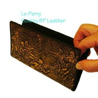 Women's Clutch Wallet/checkbook, Lovely Pattern and Color, Great Holiday Gift.