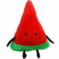 All Wishes Come True, Watermelon Cute Dolls Plush Toys, Birthday Gifts, Watermelon Plush Toys, Cool Styling, High Quality Plush Toys, Table Decoration, Surprise, Soft, Fine Workmanship, Birthday Gifts, Christmas Gifts, Wedding Gift, Red