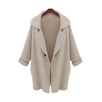 Sweater Blazer Winter Knit Jacket [9609411087]