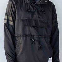 Profound Aesthetic Front Pocket Pullover Anorak Jacket-