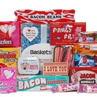 The I Love You More Than Bacon unBasket