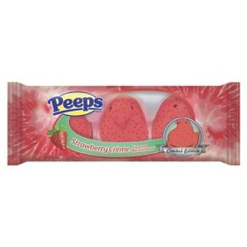 1.5 oz PEEPS Strawberry Marshmallow Candy