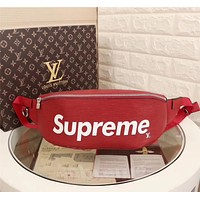 LV Louis Vuitton SUPREME EPI LEATHER WAIST PACK CROSS BODY BAG
