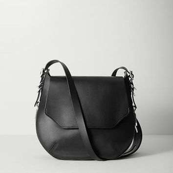 Rag & Bone - Bradbury Small Flap Hobo, Black Size 1