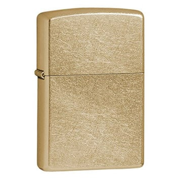 Zippo Gold Dust Gold-Plated Lighter