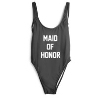 Maid of Honor One Piece Swimsuit