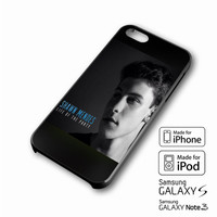 Shawn Mendes Song iPhone case 4/4s, 5S, 5C, 6, 6 +, Samsung Galaxy case S3, S4, S5, Galaxy Note Case 2,3,4, iPod Touch case 4th, 5th, HTC One Case M7/M8