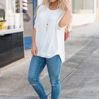 Easy To Lounge Top, Ivory