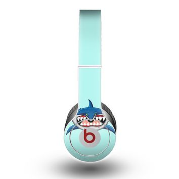 The Hungry Cartoon Shark Skin for the Beats by Dre Original Solo-Solo HD Headphones