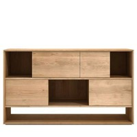 Ethnicraft Oak Nordic Sideboard - 4 Sliding Doors