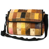 Leather Label Butler Bag Purse - Conserve