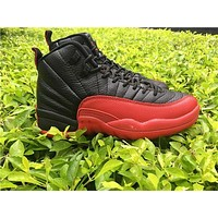 AIR JORDAN 12 RETRO'FLU GAME' sneakers basketball shoes