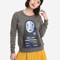 Her Universe Studio Ghibli Spirited Away No-Face Bathhouse Girls Pullover Top