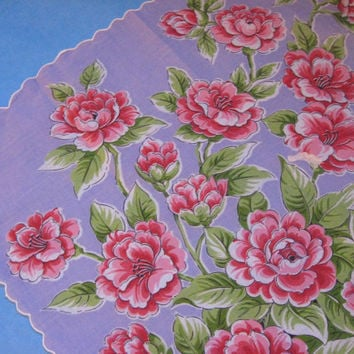 Spring Flowers Handkerchief, Use Coupon Code THINKSPRING to save $5 on a purchase of $30+