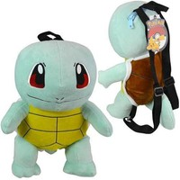 """Pokemon Squirtle Plush Doll Backpack Soft Stuffed 14"""" Costume Backpack-Brand New"""
