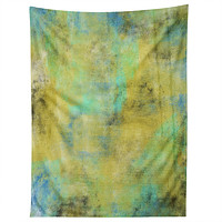 Allyson Johnson Yellow Paint Tapestry