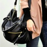 New Korean Hobo Tassel Tote Messager Crossbody Shoulder Bag Capacity Handbag