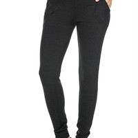 Trendy Stretch Scuba Knit Jogger Pants