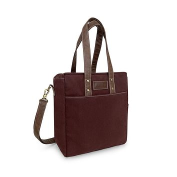 NEW! Commuter Tote - Waxed Cocoa