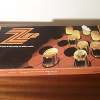 "Vintage 1976 ""Zed"" Board Game - A Game of Skill, Cunning and Hidden Surprise / Retro Game / JB McCarthy Smurfit Group / Made in Ireland"